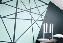 wallpaint geometri