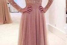 Sleeved Prom Dress
