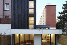 maison de ville à montrouge (92) / maison contemporaine bois