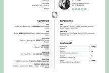 ❥ CV layout