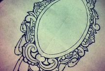 frame tattoo