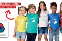 ColorADD Textile, Footwear & Others / ColorADD in ZIPPY clothing ... COLOR is for ALL !!!  Zippy was the pioneer of children's wear brand to integrate in the clothing label the ColorADD system