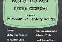 Fizzy play dough