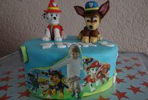 Jongens taarten / Taarten voor jongens, klein en groot
