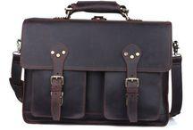 "Vintage Leather Laptop Bags 16"""