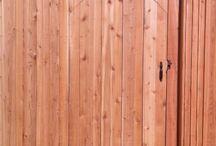 Wood Gates / Wood gate built by Titan Fence & Supply Company.
