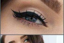 eyebrows/make up