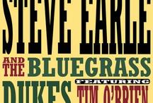 Steve Earle Posters