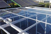 Invernadero Solar / Invernadero completamente solar. Control automático de riego y humedad.