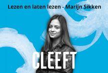 Lezen en laten lezen - Marijn Sikken / Marijn Sikken schrijft tweewekelijks een column voor CLEEFT.