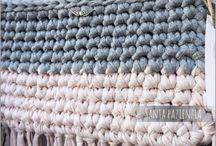 Crochet-trapillo- bolsos