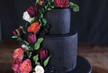 Dark decor styled shoot
