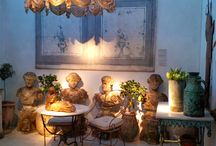 Antique Inspiration / Inspiration from buying trips, travel and antiques fairs http://www.dazzlevintagefurniture.com