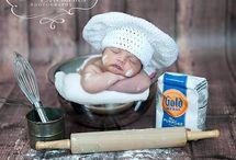 Fotózás - baba szakács és hőlégballon (unisex)