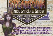 Renninger's Mount Dora Steampunk Industrial Show / by Renningers Antiques, Farmers, Flea Markets