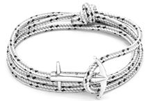The Signature Collection / The most original of ANCHOR & CREW bracelet collections, discover instantly recognisable and innovative anchor rope bracelets. Each handmade from Marine Grade rope, genuine natural leather and .925 sterling silver, express your style with a quality accessory. Rediscover naval heritage with a modern style and new vision.