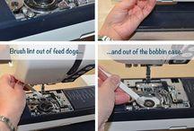 hoe om naaldwerk madjien skoon te maak.