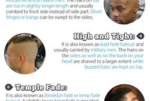 Hairstyles Infographics