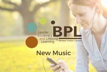 """New Music / Use our Freegal Music app or our Hoopla Digital app to borrow or stream new music on your favorite device. Take a look at our boards called """"BPL Digital Services"""" and """"Digital Services Apps"""" for info and links. If a pin links to the SWAN catalog, it's physical item that circulates from the library building."""