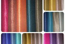 Colored fabrics / Curtains, fabrics,colors