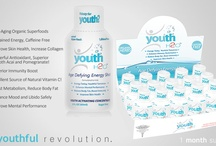 youthH2O: It's Fun To Grow Young! / YouthH2O is an anti-aging dietary supplement made with rare, organic superfoods that also provides a caffeine-free energy and immunity boost. It is scientifically formulated to stimulate, replenish, and reactivate youthful elements in your body! #HealthySkin #Rejuvenate #BeautyTherapist #Dermatude