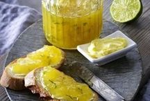 Ananas Limette Marmelade mit Minze