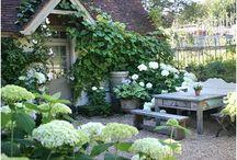 Tuinimpressies en potten / ideeën voor tuin en potten