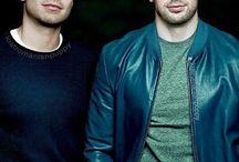 Chris and Sebastian❤