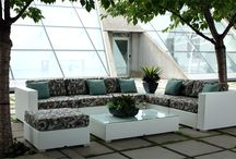Wicker Patio Furniture / Patio furniture sectionals that create great outdoor rooms. Complete with your choice of Sunbrella Fabrics. / by InsideOut Patio Furniture