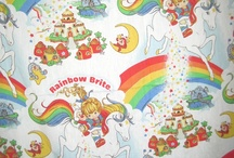 Fun Vintage Sheets / Vintage bed Sheets great in your geeky home or for geeky crafts