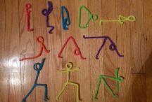 yoga / joogaliikkeitä