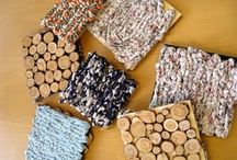 Pannunaluset / Coasters, trivets, potholders