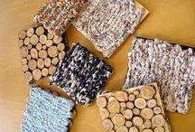 Pannunaluset / Coasters, trivets, potholders