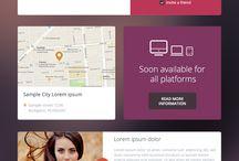 Mobile site teaser