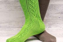 Sock Designs / Sock designs by Karen S Lauger, Lykkefanten
