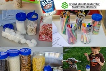 Mallow Bits canisters - Repurposed / by JET-PUFFED Marshmallows