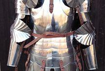 Armor, pieces of armor..Zbroje, části zbroje / Ukázky zbrojí a části zbrojí