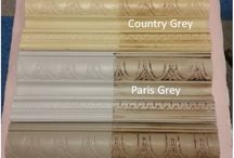 Chalk paint wax finishes