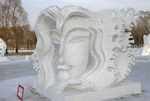 Ice & Snow sculptures
