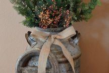 christmas decorations rustic