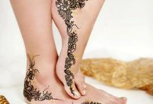 Arabic/Middle Eastern henna designs / Tattoos and Henna