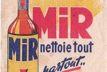 FRENCH PUB / Old Fashioned Vintage Advertising des vieilles pubs stylées quoi ;)