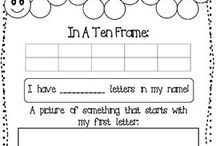 Maths / Tens frames