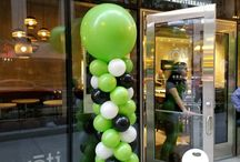 Grand Opening Balloon Decor / Balloons and grand openings go hand in hand.  Bring the color and excitement that balloons offer to your next grand opening or big event!  Want more? Visit www.balloonsbytommy.com