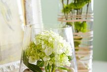 интерьер. цветы