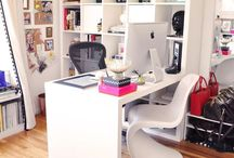 Sewing Room/Organization / sewing room storage ideas and decor.