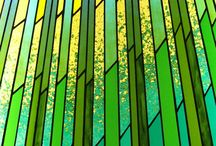 Stain glass / by Genevieve Lee