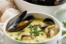 Seafood, fish recipes