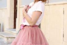 TUTU sukně / Módní tylové sukně