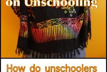 unschooling and crazy art-craft / by Sophie Larcher